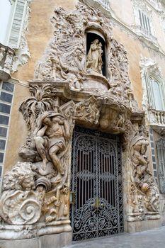Tourist site in Valencia, Spain