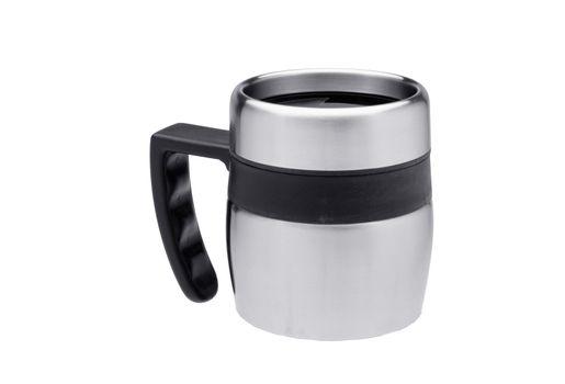 thermos mug isolated