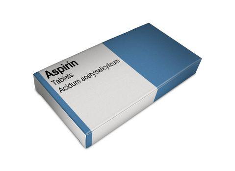 Image of aspirin box