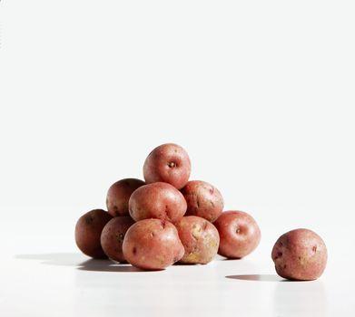 Potato Pile and Lone Spud