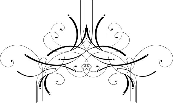 Classic decorative elements with a white background. Great to add that final touch to your design.