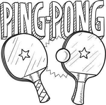 Ping pong sketch