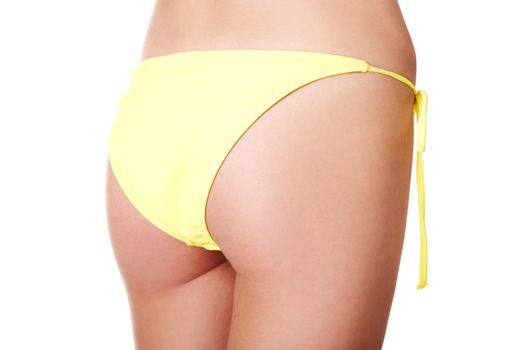 Buttocks of young fit woman