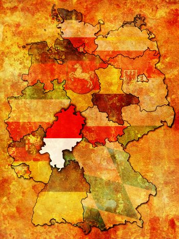 Hessen and other german provinces(states)
