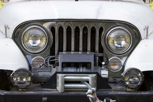 Off Road Vehicle Front End