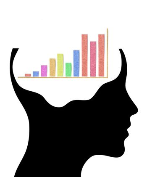 Concept of smart businessman