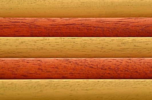 wooden battens