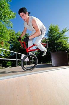 BMX Bike Stunt