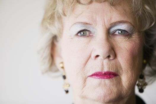 Senior Woman with a Blank Stare