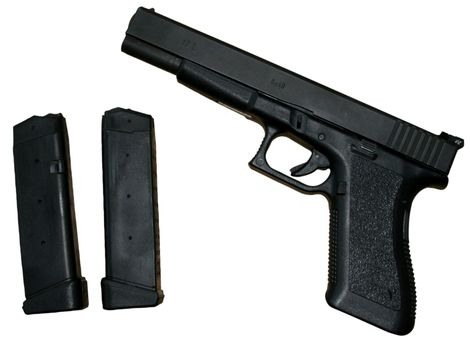 ammo and gun