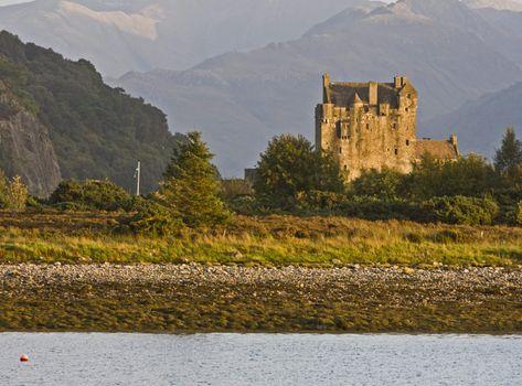 ancient castle in scotland