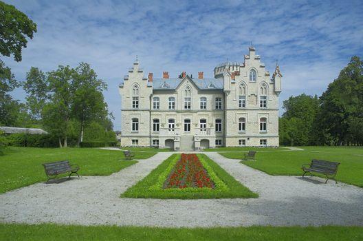 Vasalemma manor. Estonia