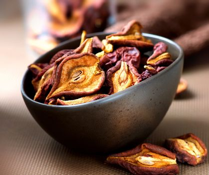 Dried Fruits. Dry Pear Fruit