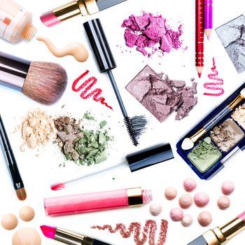 Make-up Set. Collage
