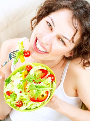 Dieting concept. Healthy Food