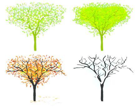 tree in for season