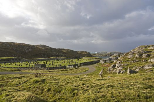 isolated cemetery in scotland