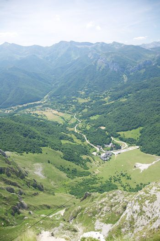 Fuente De from top