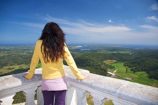 Menorca from balcony
