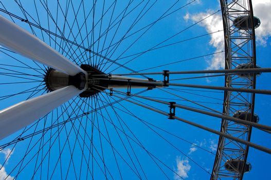 London Eye, famous landmark in London, UK
