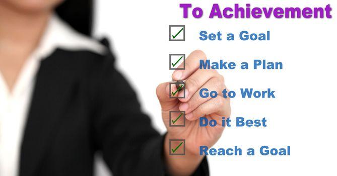 step to Achievement
