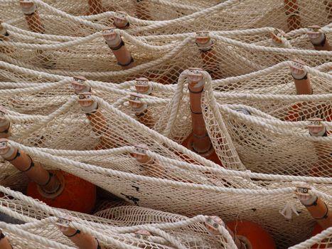 net and buoys