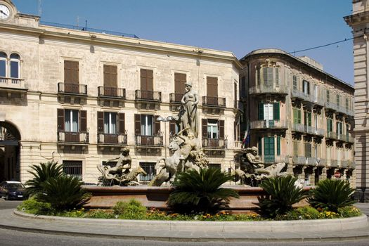Fountain of Artemide, Ortigia - Siracusa