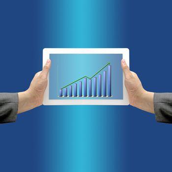Up Trend Revenue Graph