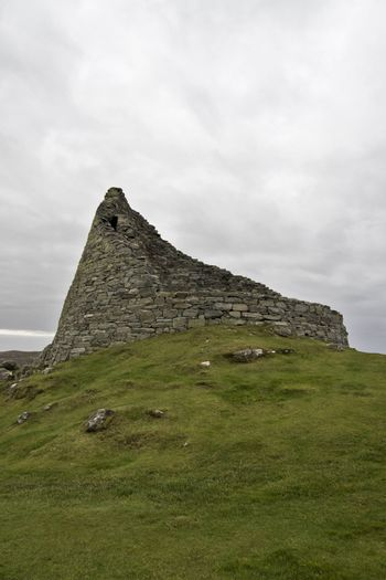 broch: historic stone housing used in north scotland
