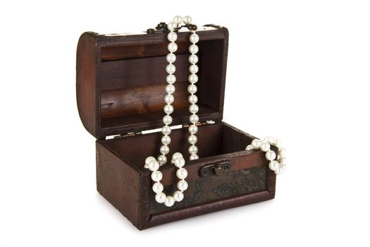 Treasure Chest with Pearls