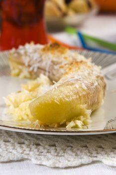 thai banana dessert