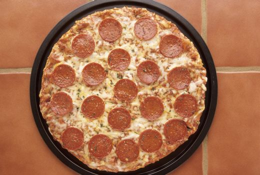 Pepperoni Pizza Pan