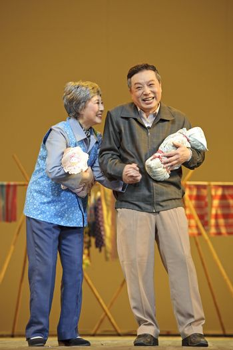 Chinese Suzhou Burlesque Drama performer