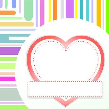 vector valentine or wedding love heart romantic birthday background