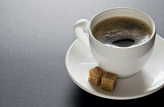 Black Coffee with Copyspace