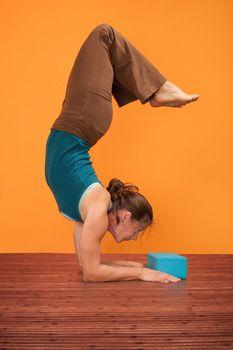 Woman Bends Backward
