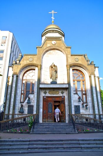 Chapel ok Kazan godmother in Moscow