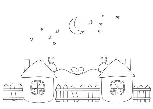 love under moonlight