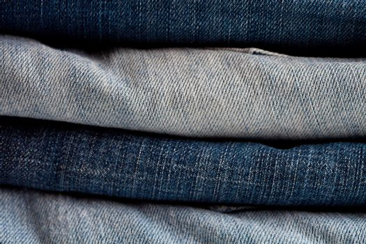 blue and grey jeans