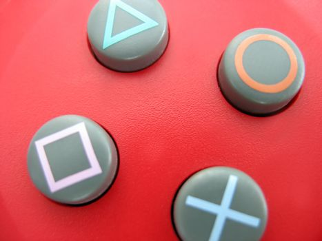 gamepad buttons