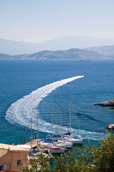 Seascape of Corfu