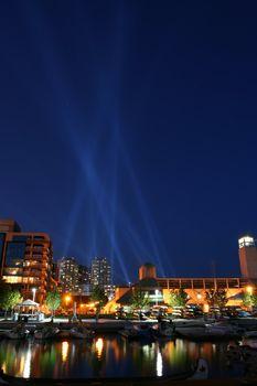 Luminato: Pulse Front installation in Toronto, Canada.