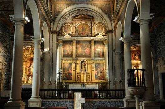 Portugal, the Santa Maria church in Obidos