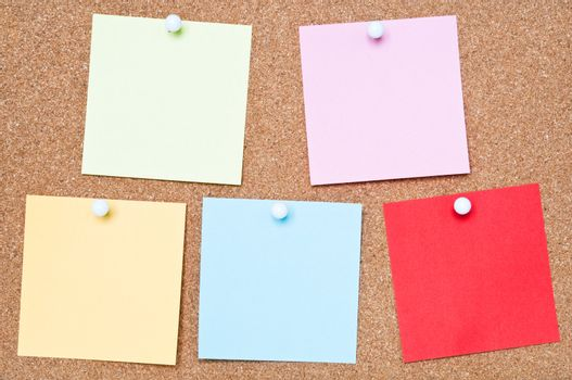 Colourful Adhesive Notes