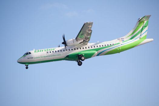 A binter airplane