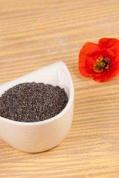 Poppy condiment
