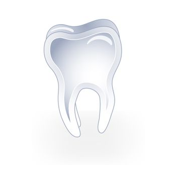 Illustrated tooth
