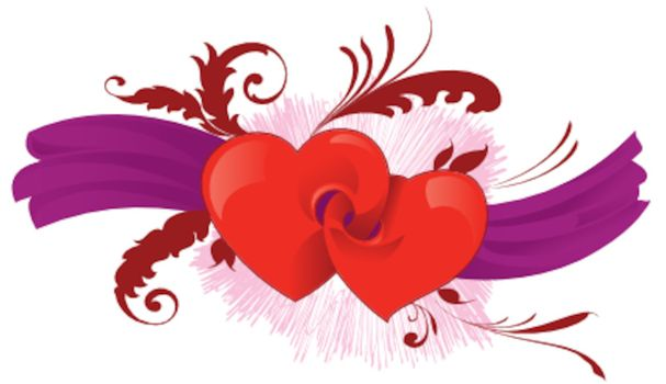 Vector illustration of valentine´s Heart