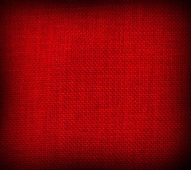 red background with a crisscross mesh pattern