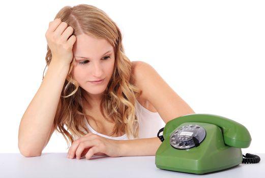 Awaiting a phone call
